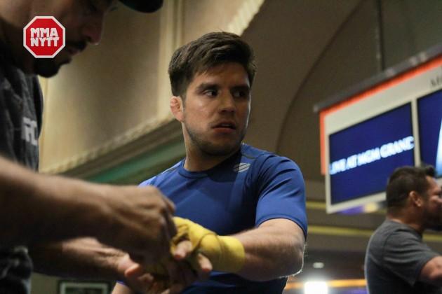 """VIDEO: Henry Cejudo till MMAnytt: """" I pick up skills very fast"""" UFC 197"""