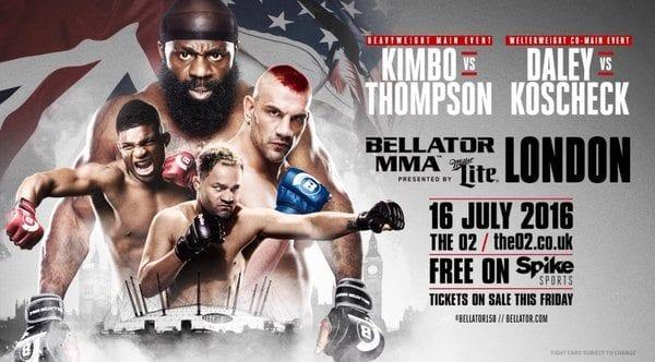 Två nya matcher klara till londoneventet Bellator 158: Kimbo vs. Thompson 2