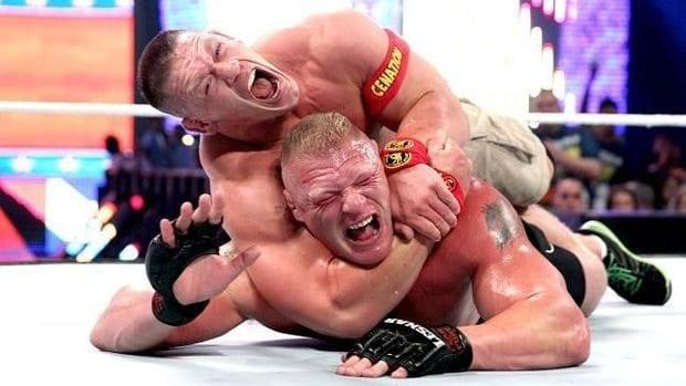 John Cena Brock Lesnar