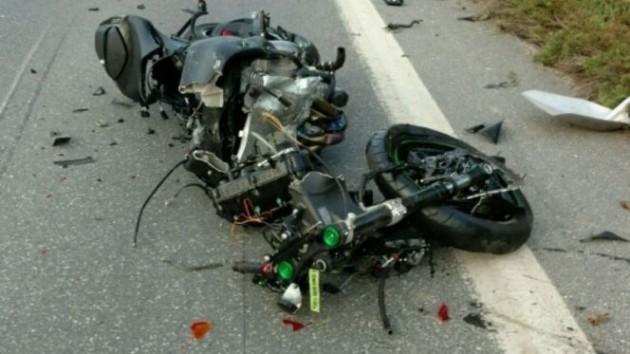 Darrell Horcher på sjukhus efter fruktansvärd motorcykelkrasch