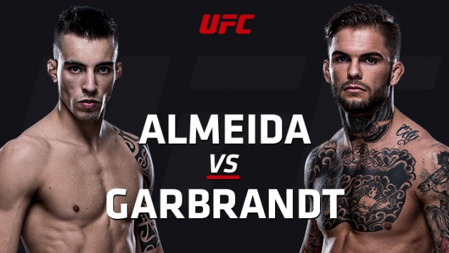 Cody Garbrandt knockar Thomas Almeida i första ronden