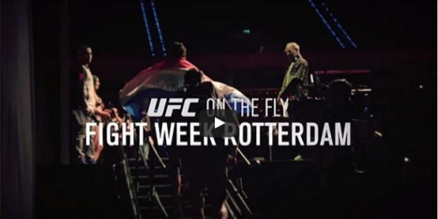 Video: UFC On The Fly – Fight Night 87 Rotterdam – Avsnitt 3