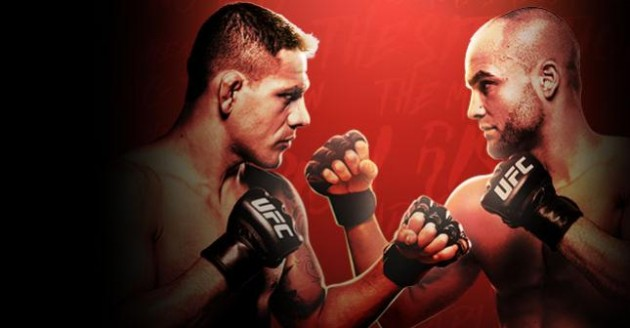 UFC Fight Night 90: dos Anjos vs. Alvarez – Matchkortet