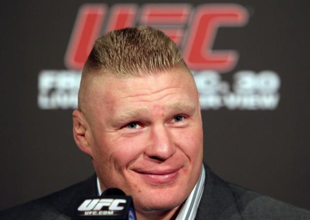 Twitter reagerar på Brock Lesnars positiva dopingtest