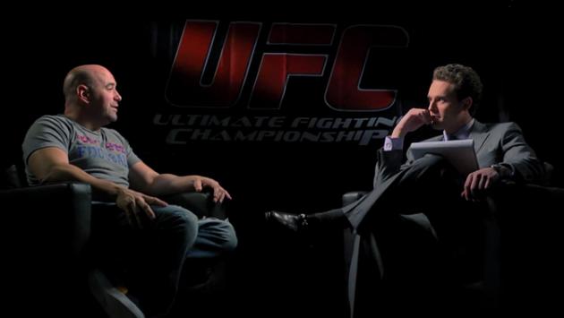 Video: Dana White i längre intervju med Graham Bensinger