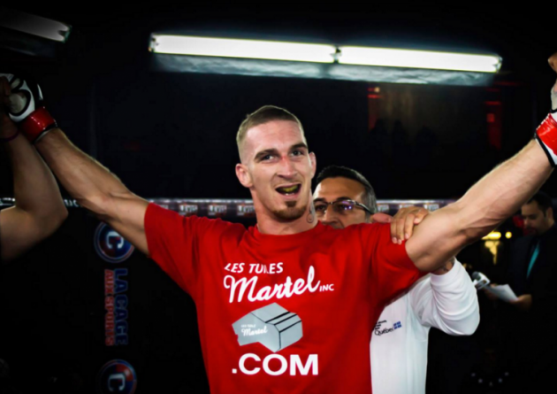 Alex Garcia skadad – obesegrade Jonathan Meunier ersätter mot Colby Covington