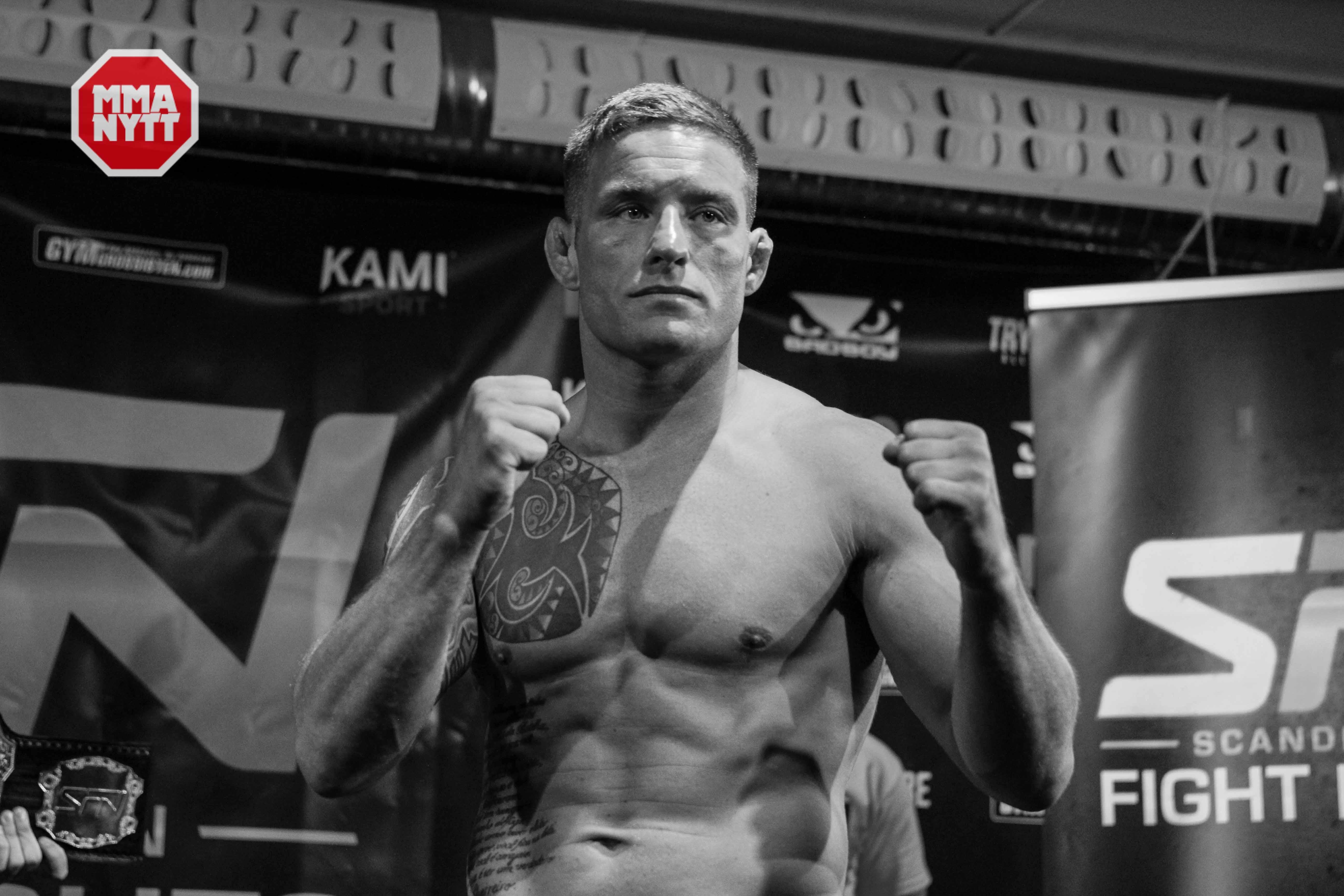UFC-veteranen David Bielkheden tar hem organisationens welterviktsbälte - mot en motståndare som har gått en tredjedel så många matcher. Foto: Mazdak Cavian
