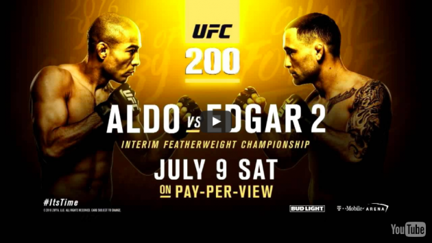 Video: UFC 200: Jose Aldo vs Frankie Edgar