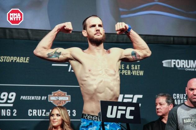 Cole Miller klar för ny match på UFC on FOX 22 i Sacramento