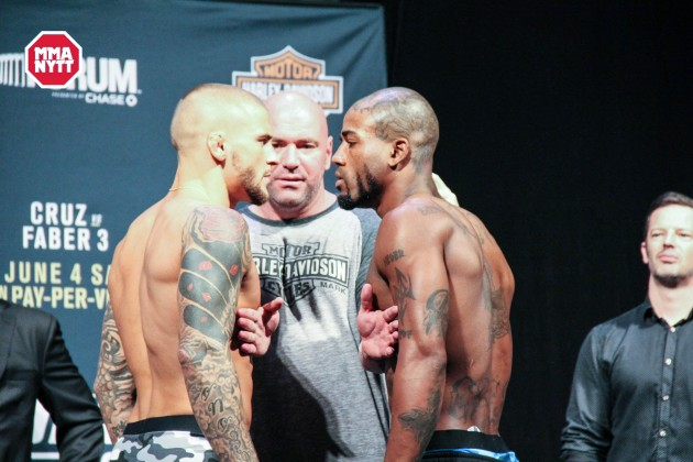 UFC 199 Dustin Poirier vs. Bobby Green Los Angeles photo MMAnytt.se Weighins 20160603-43