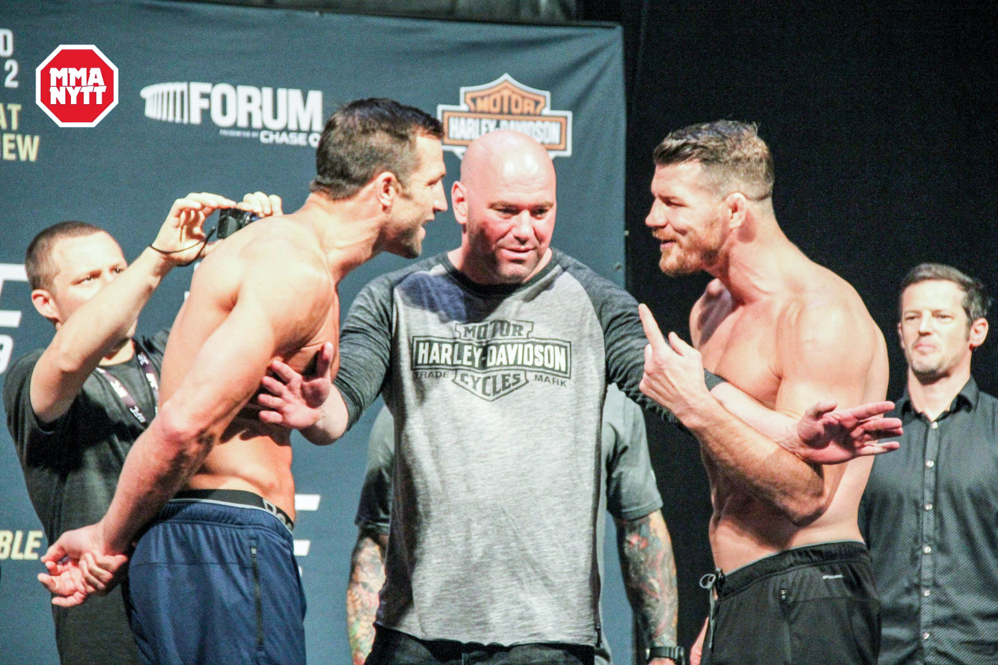 Rockhold vs. Bisping 2 Photo MMANytt.se
