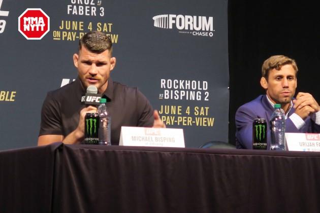 Video: Kolla in presskonferensen efter UFC 199: Rockhold vs. Bisping II