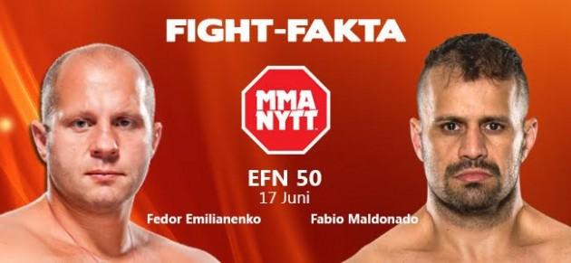Fight-fakta: Fedor Emelianenko vs. Fabio Maldonado