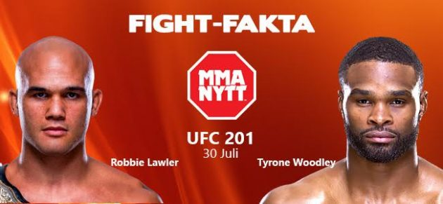 Fight-Fakta: Robbie Lawler vs. Tyron Woodley
