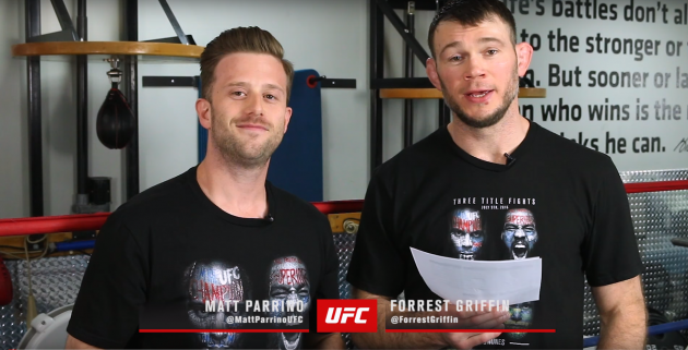 Video: Forrest Griffin och Matt Parrino bryter ned den senaste rankingen