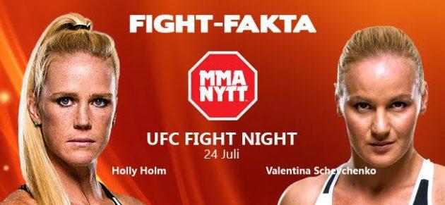Fight-Fakta: Holly Holm vs. Valentina Shevchenko