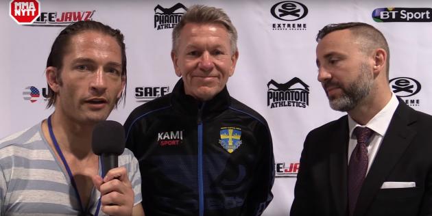 Video: Intervju med Sveriges förbundkapten Christer Ringblom och IMMAF vice president George Sallfeldt
