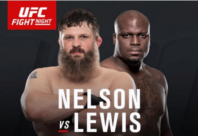 Roy Nelson vs Derrick Lewis går tiden ut