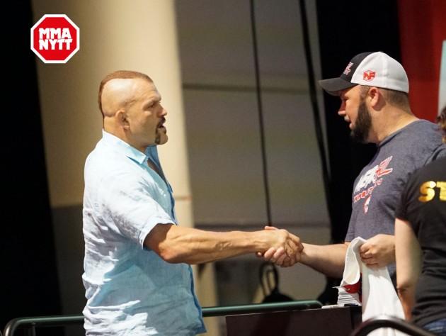 UFC gör sig av med Chuck Liddell och Matt Hughes