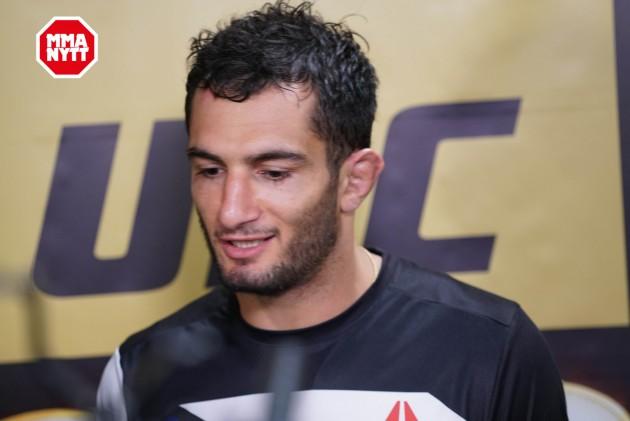 """Gegard Mousasi lovar att straffa """"kaxige"""" Chris Weidman vid UFC 210"""