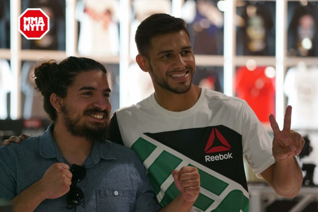 UFC Fight Night 103: Höjdpunkterna från invägningarna och den öppna träningen