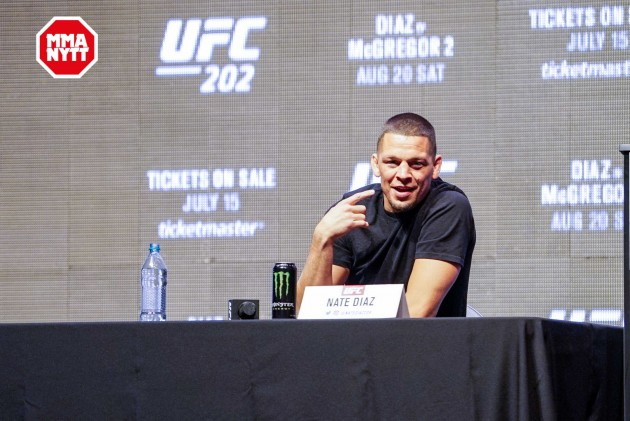 Nate Diaz trodde att han var rik efter vinsten på The Ultimate Fighter 5