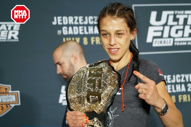 Joanna Jedrzejczyk och Stephen Thompson segertippade inför titelmatcherna på UFC 205
