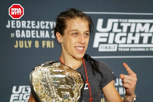 Uppgifter: Joanna Jedrzejczyk försvarar bältet på UFC 211