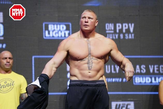 """Brock Lesnar håller hov: """"Jag är den tuffaste j*veln i världen"""""""