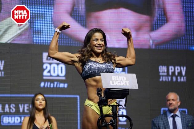 """Julianna Peña: """"Jag kan besegra vem som helst i bantamvikten"""""""