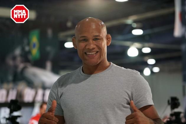 """Ronaldo """"Jacare"""" Souza klar för ny toppmatch på UFC on FOX 24"""