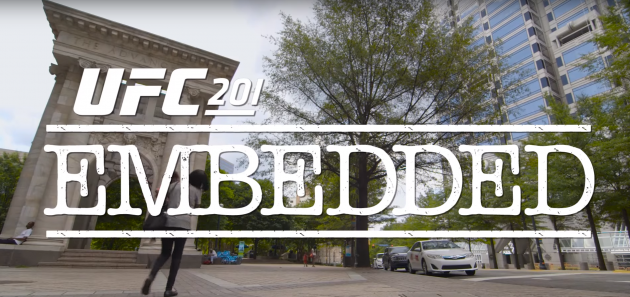 Video: UFC 201 Embedded: Vlog Series – Sjätte avsnittet
