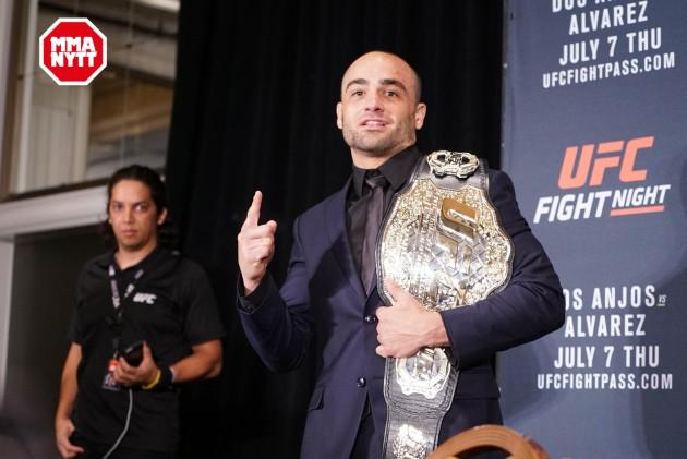 Missa inte UFC 201: Q&A med Eddie Alvarez och Amanda Nuñes