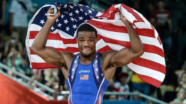 OS-Brottaren Jordan Burroughs tränar med Elevation Fight Team i Colorado