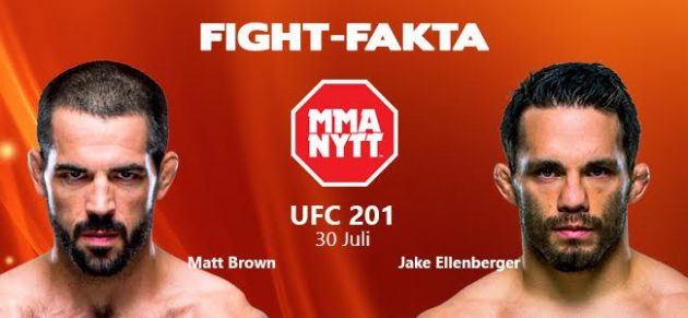 Fight-Fakta: Matt Brown vs. Jake Ellenberger