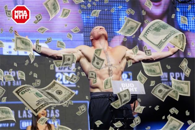 UFC 200: Fighterlöner – Brock Lesnar får rekordhöga 21,5 miljoner