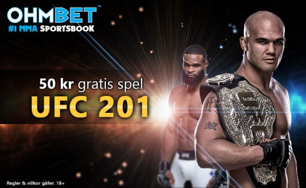 Tippa hela UFC 201 huvudkortet med oss på MMAnytt.se