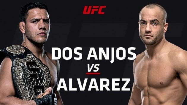 UFC Fight Night 90: Dos Anjosvs Alvarez – Liveresultat och statistik