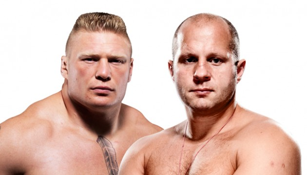 Video: Animerad fight mellan Brock Lesnar och Fedor Emelianenko