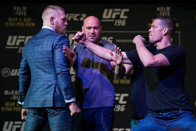 Video: Fighters tippar på vinnaren i andra mötet mellan Conor McGregor och Nate Diaz. Gissa vem ingen väljer?