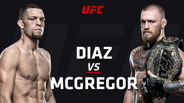 UFC 202: Diaz vs. McGregor II – Liveresultat och Statistik