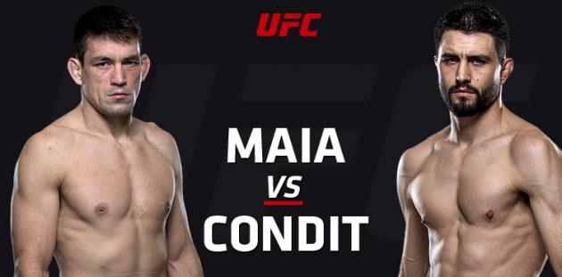 UFC on FOX 21: Maia vs. Condit – Livestatistik och Resultat
