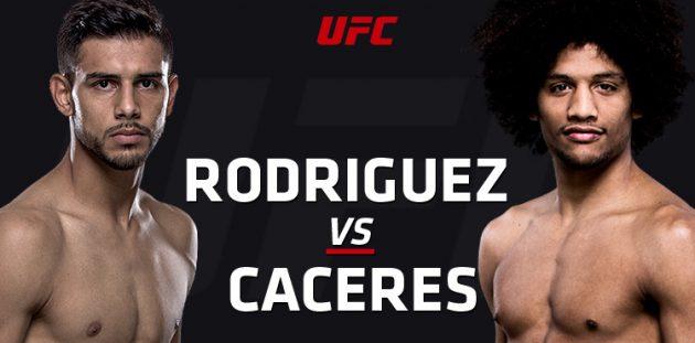 UFC Fight Night 92: Rodríguez vs. Caceres – Liveresultat och Statistik