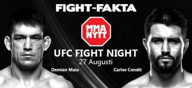 Fight-Fakta: Demian Maia vs. Carlos Condit