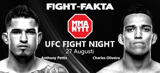 Fight-Fakta: Anthony Pettis vs. Charles Oliveira