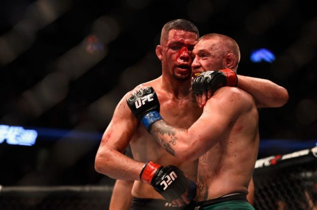 Conor McGregor vs Nate Diaz Foto: Jeff Bottari/Zuffa LLC/Zuffa LLC via Getty Images