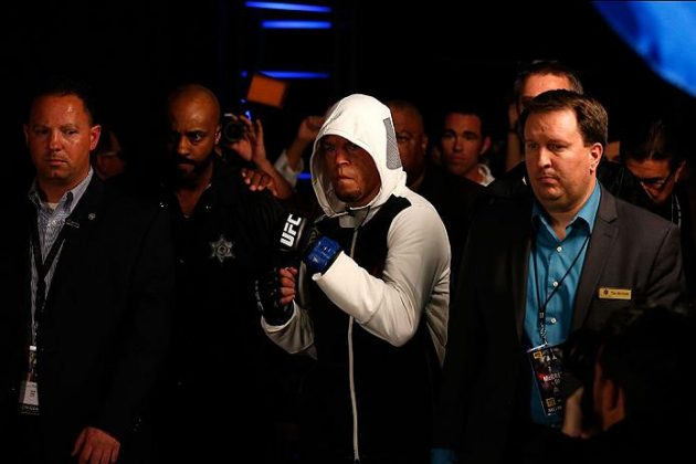 """Video: Nate Diaz pratar med presskåren efter förlusten: """"I'll fight at 155, it's all good"""""""
