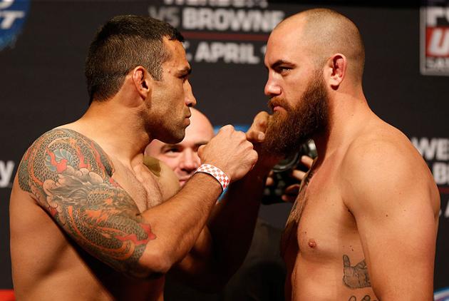 Fabricio Werdum får en ny motståndare inför UFC 203: Travis Browne kliver in och ersätter Ben Rothwell