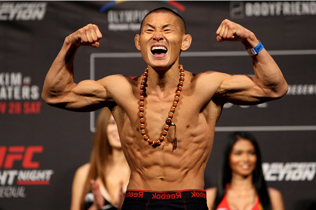 UFCs Ning Guangyou testade positivt men har frisläppts av USADA för att han högst sannolikt ätit förorenat kött