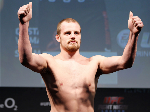 UFC Fight Night London: Gunnar Nelson avslutar Alan Jouban i den andra ronden